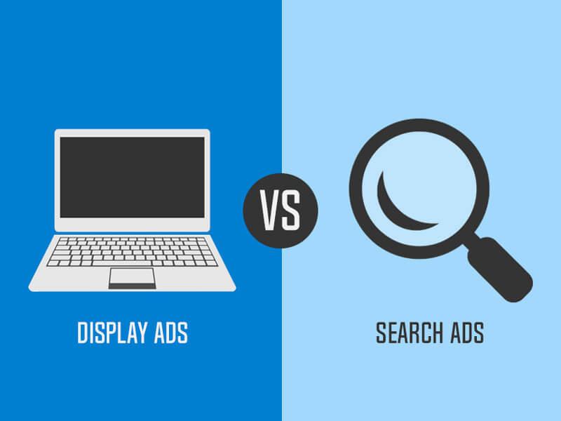 تفاوت تبلیغات دیسپلی و سرچ