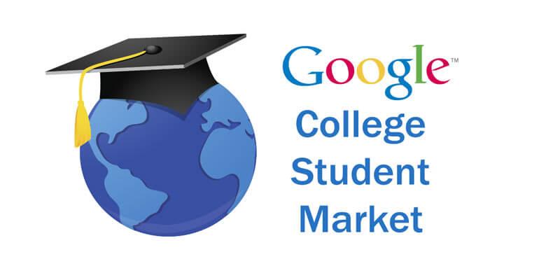 بازار دانشجویان دانشگاهی با گوگل ادوردز