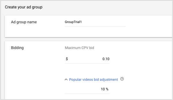 ایجاد ادگروپ یوتیوب