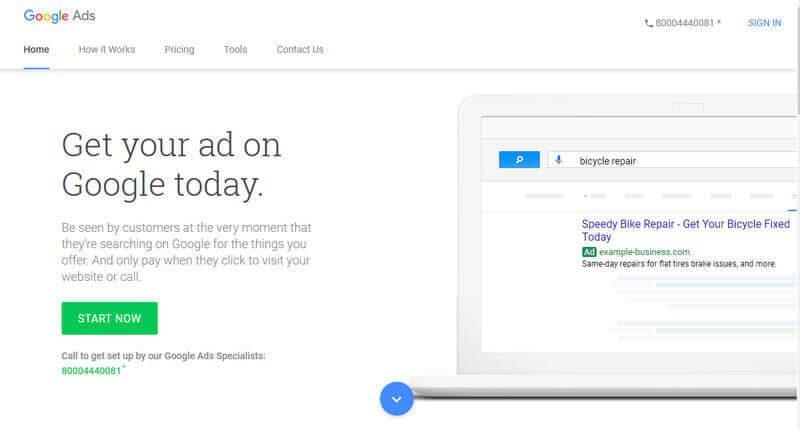 ساخت اکانت گوگل ادز