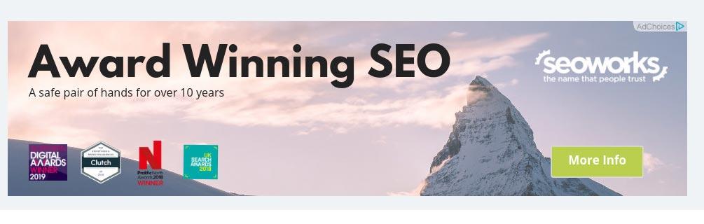 مثالی از کمپین دیسپلی گوگل ادز در وب سایت های خارجی زبان