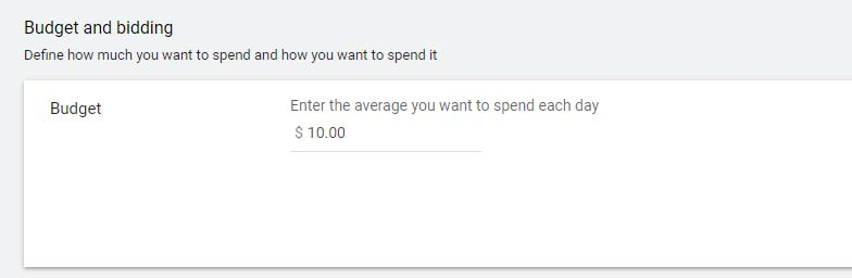 نحوه تعیین بودجه روزانه گوگل ادز