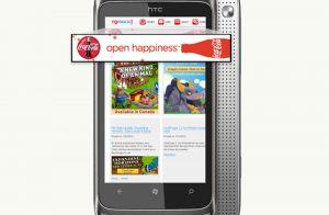 تبلیغات بنری موبایل