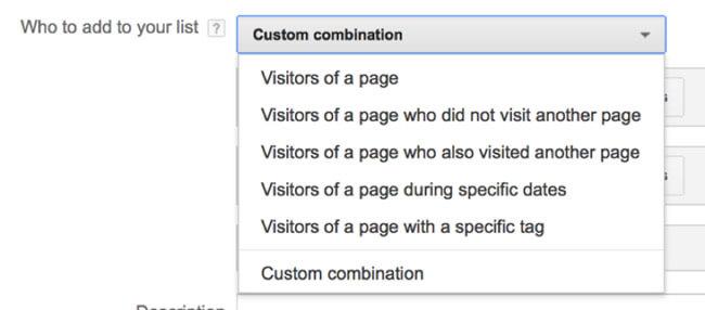 نحوه ترکیب چند مورد در گوگل ادز