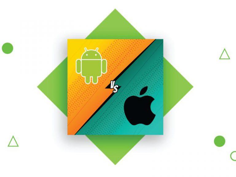 ۷ تفاوت مهم بین توسعه اندروید و iOS