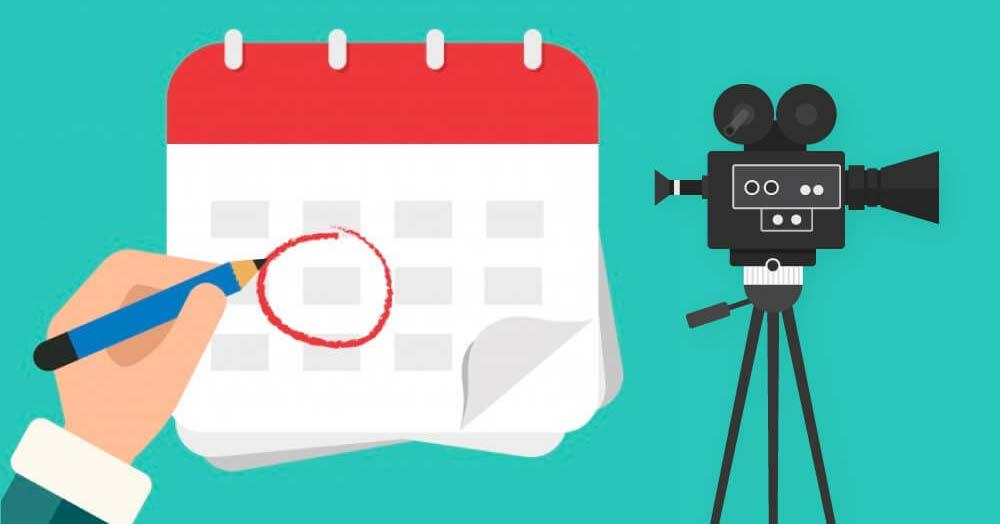 ایجاد تقویم محتوایی - استراتژی های بازاریابی ویدیو