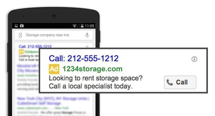 کمپین تماس تبلیغات گوگل - واژه نامه کامل گوگل ادز