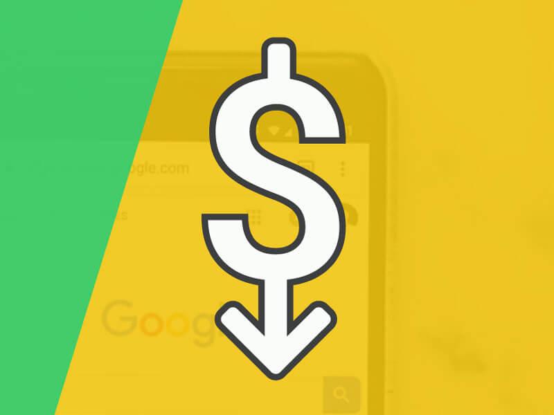 کاهش هزینه تبلیغات گوگل
