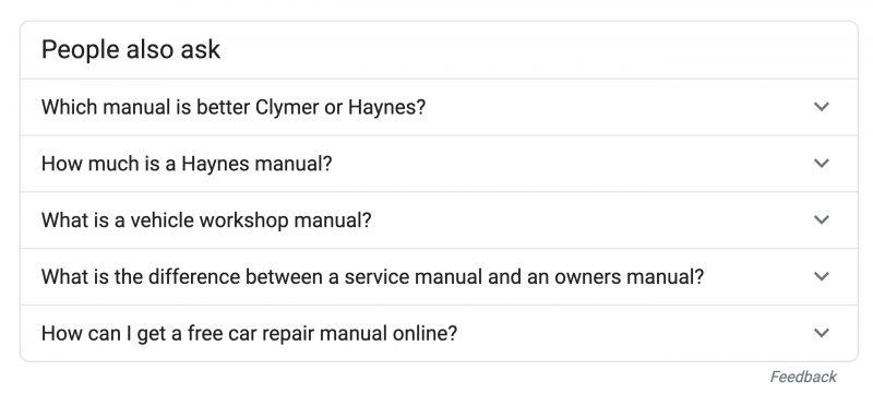 peaple also ask google