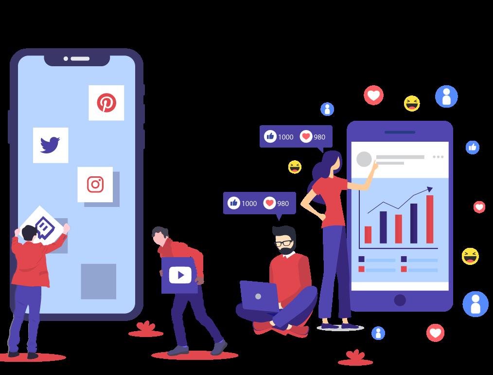 تبلیغ در شبکه های اجتماعی - انواع تبلیغات اینترنتی
