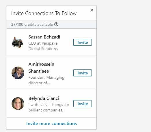 چگونگی افزایش افراد دنبال کننده شرکت در لینکدین - نکات مهم لینکدین