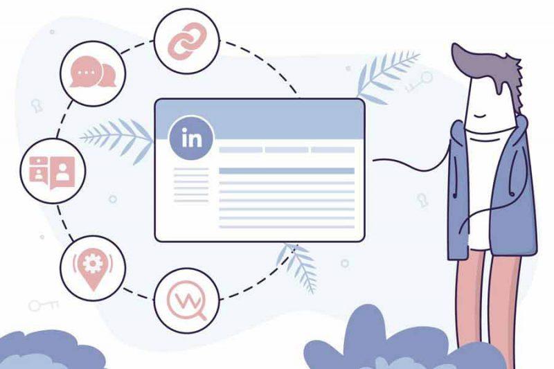 جست و جوی اشخاص در شبکه اجتماعی لینکدین