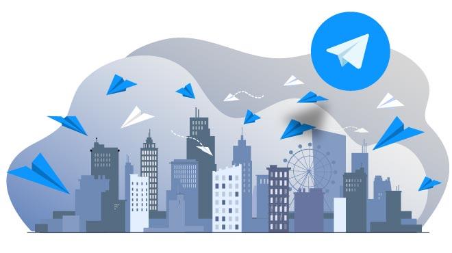 تبلیغات تلگرام بر اساس کلیک