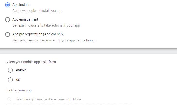 انتخاب استراتژی تبلیغاتی اپلیکیشن و اینکه اندروید است یا iOS