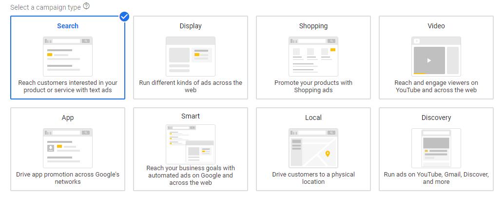 چگونه در کمپین سرچ گوگل تبلیغ کنیم؟