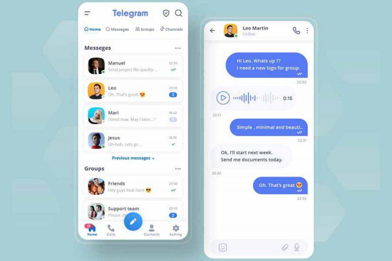 اشتراک گذاری پیام در بازاریابی تلگرام