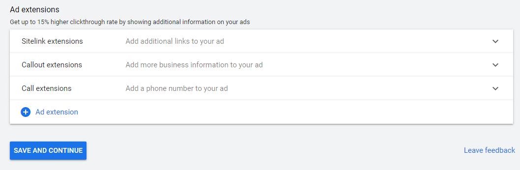 استفاده از افزونه های تبلیغاتی برای بهبود کمپین سرچ گوگل ادز