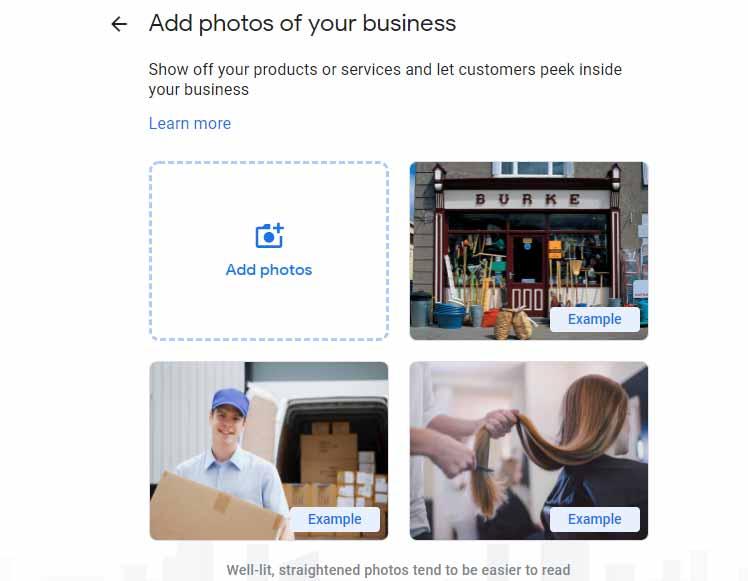 ارائه تصویر برای تکمیل گوگل مای اکانت