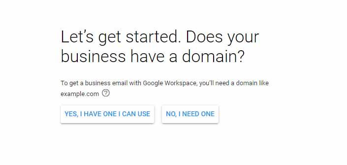 نحوه تکمیل اطلاعات ایمیل در گوگل مای بیزینس