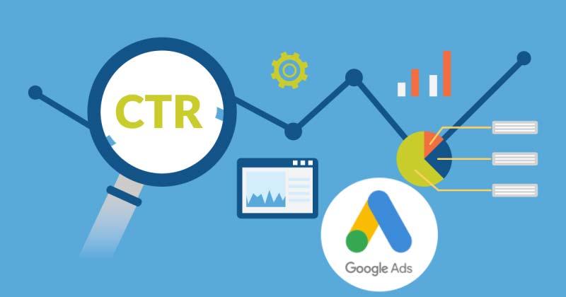 تعریف CTR - اصطلاحات گوگل ادز