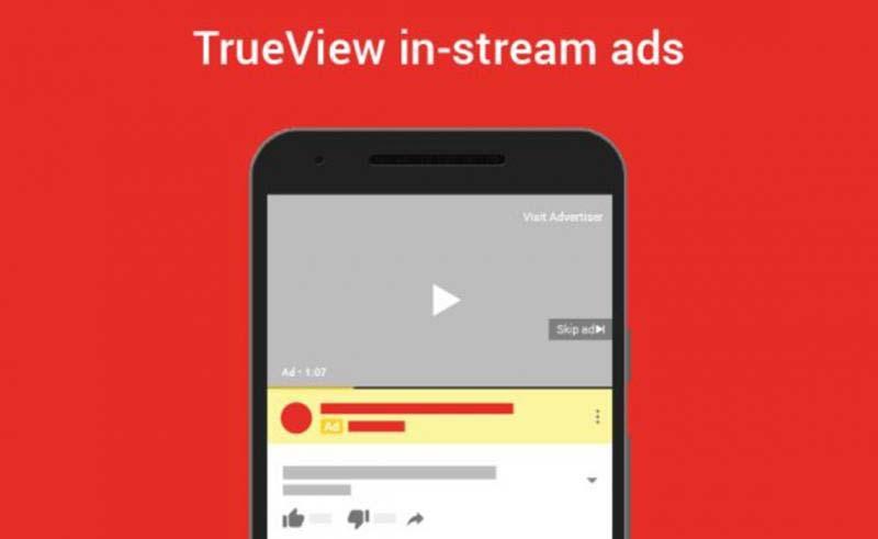 نمای واقعی یا Trueview - اصطلاحات گوگل ادز