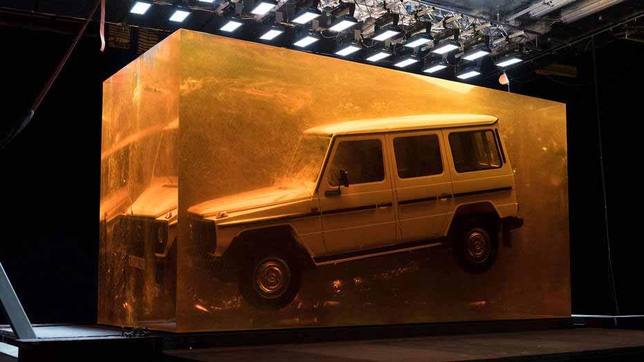 چرا باید تبلیغ کنیم؟ کمپین مرسدس بنز برای معرفی خودروهای جدید با چاشنی جلوه های ویژه