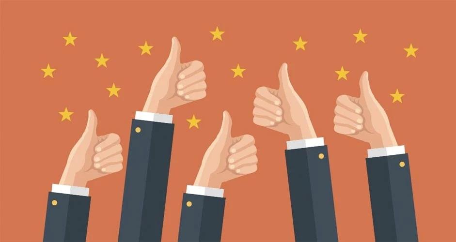 اعلام نظر و ستاره های ثبت شده توسط کاربران میتواند فعالیت جذب مشتری را ساده تر کند