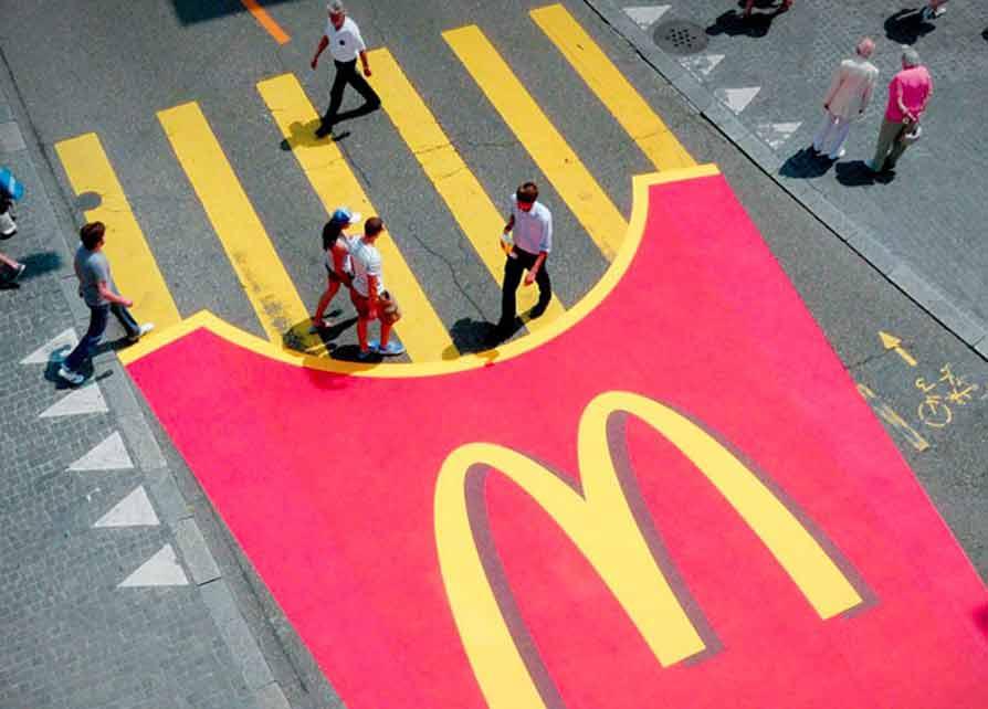 تبلیغات چریکی مک دونالد - چرا باید از تبلیغات استفاده کنیم؟