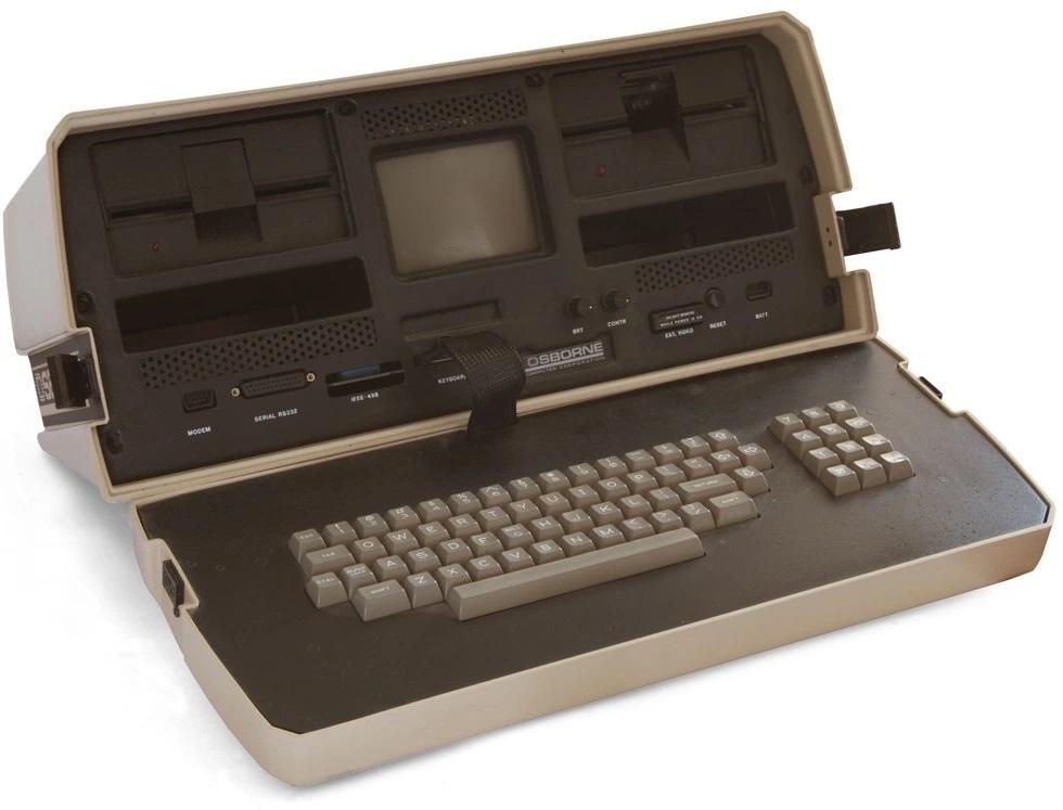 روش های جذب مشتری - اولین لپ تاپ ساخته شده در جهان